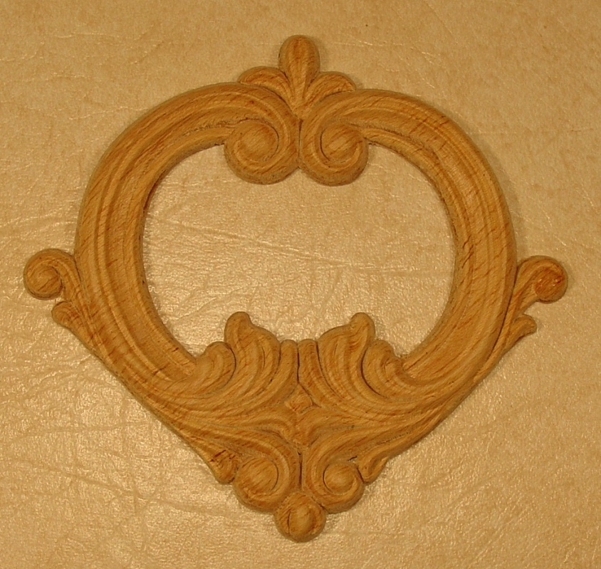 Wooden Appliques And Onlays For Crafts