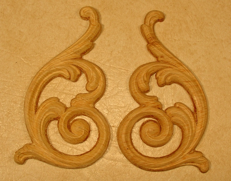 Appliques Embossed Carvings Onlays 250750