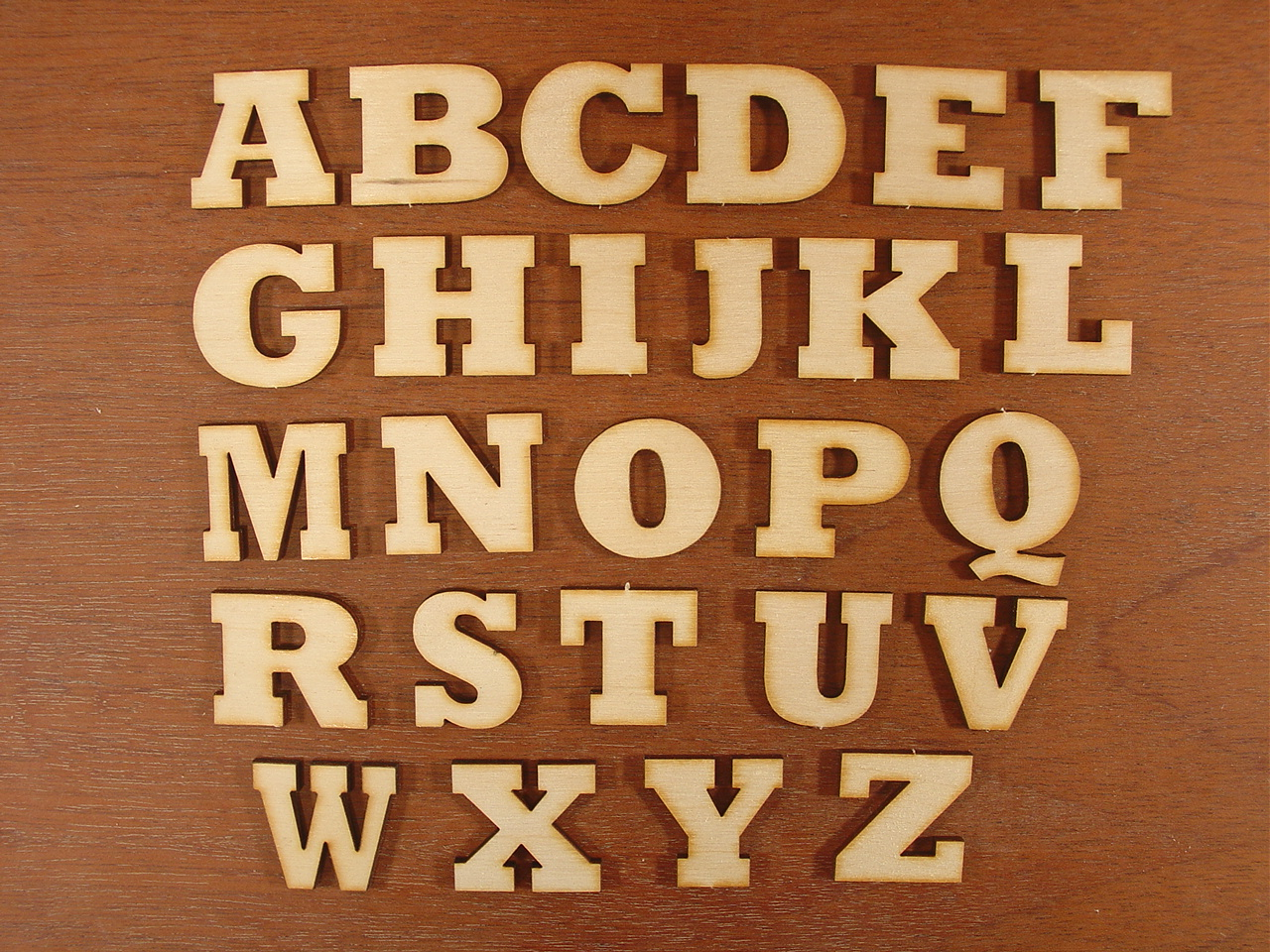 Craft Supplies Alphabet Numbers Letters
